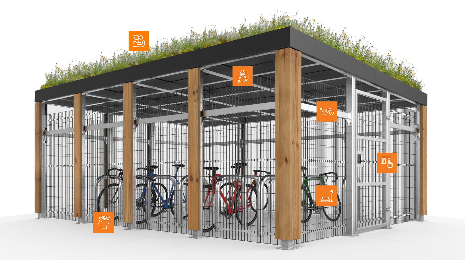 metroSTOR PCH Cycle Parking - metroSTOR